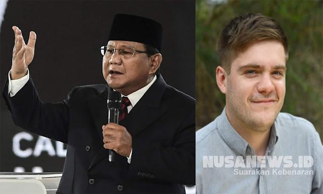 Jurnalis Asing Puji Penampilan Prabowo di Debat, Netizen: <i>Next President!</i>
