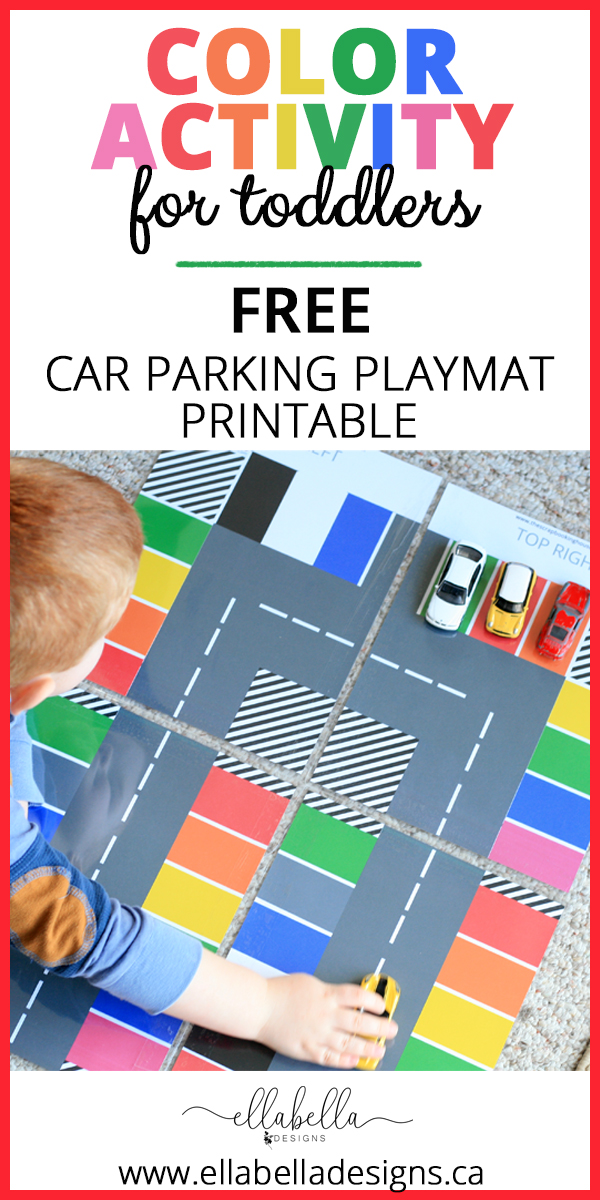 Color Activity Playmat for Toddlers