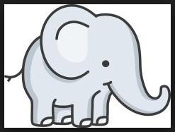Animasi Gajah Duduk