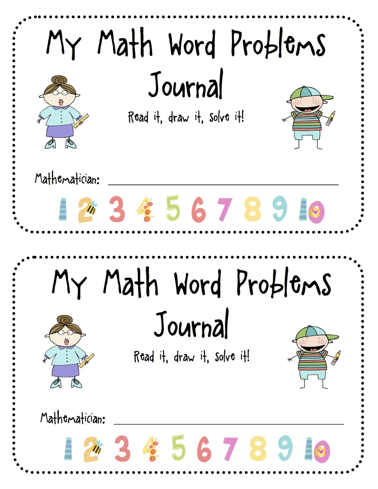 Kindertastic Math Word Problems