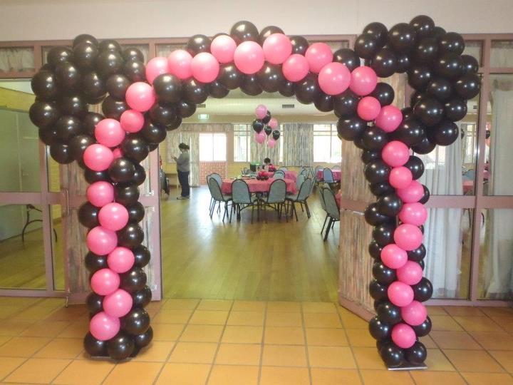 Kalliopelp arcos con globos decoraci n de fiestas - Adornos con globos para fiestas ...