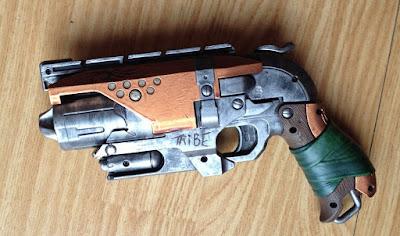 Súng đồ chơi Nerf Hammershot độ chế sắt thép