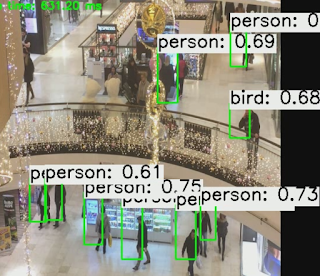 yolo tiny people detection cpu performance