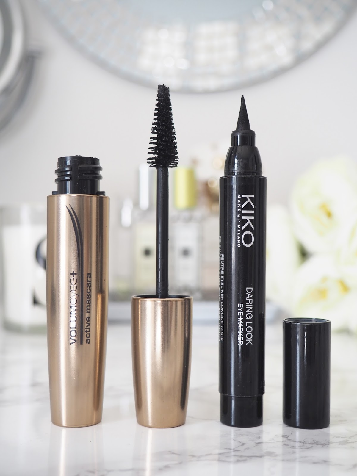 KIKO mascara eyeliner eyes makeup