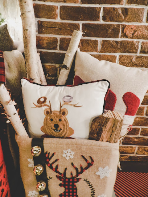 CANVAS Canadian Tire Christmas Pillows Cute