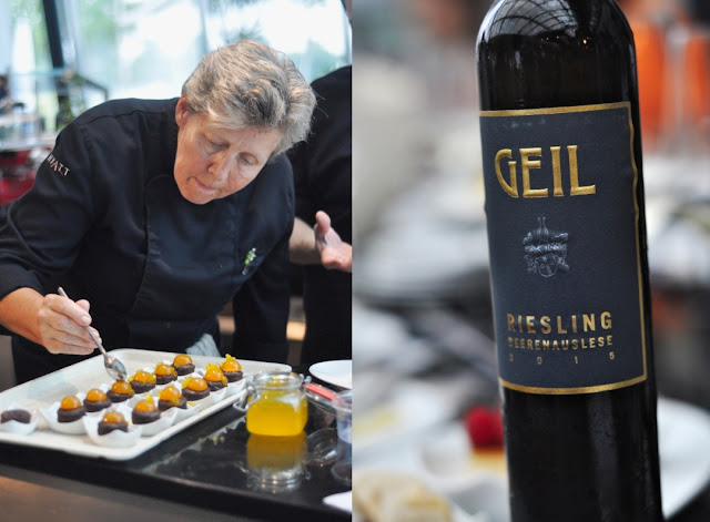 Riesling Beerenauslese aus dem Weingut Oekonomierat Johann Geil Erben