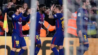 Sport: Barcelona vs Alaves! Messi nets winner as Valverde's men remain 11 points clear