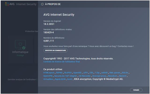 تفعيل برنامج AVG Internet Security لفحص جهاز الكمبيوتر من الفيورسات بشكل كامل مجانا