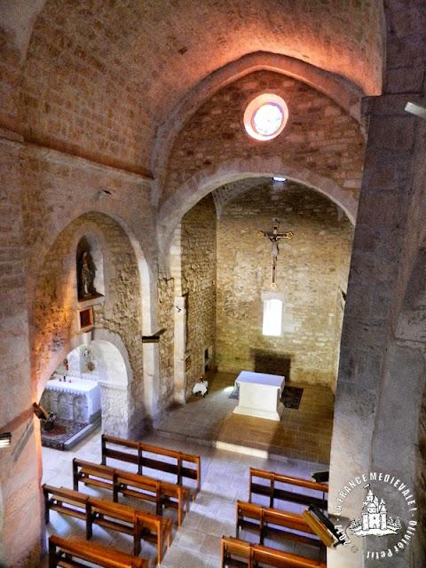 SALAZAC (30) - Village médiéval - Eglise