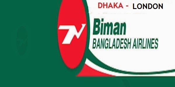 Dhaka-London Flight Fare of Biman Bangladesh Airlines