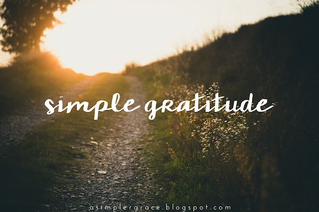 simple gratitude, gratitude, grateful heart