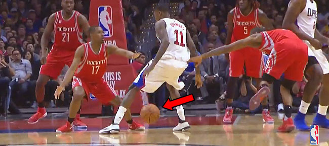 Jamal Crawford Shows Off His SICK Handle vs Rockets! (VIDEO)