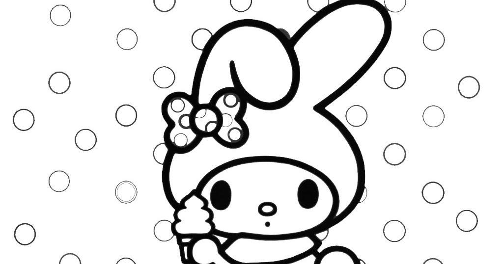 Mewarnai Hello Kitty Dan Melody Colours G