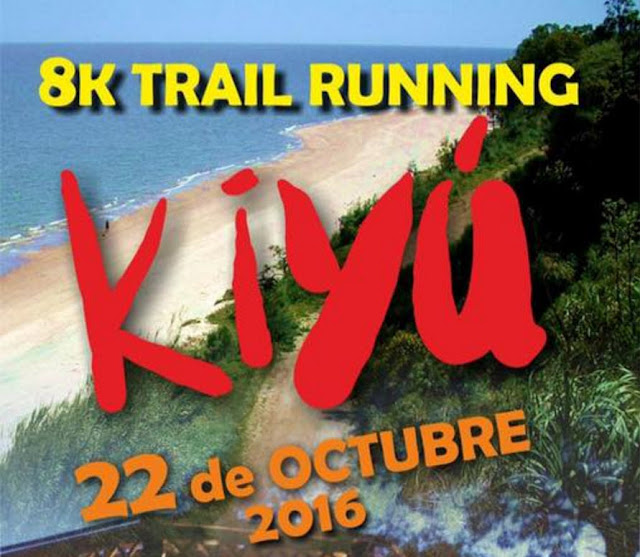 8k Trail running en Kiyú (San José, 22/oct/2016)