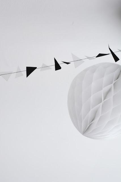 urodzinowe patenty - DIY: girlanda na szybko