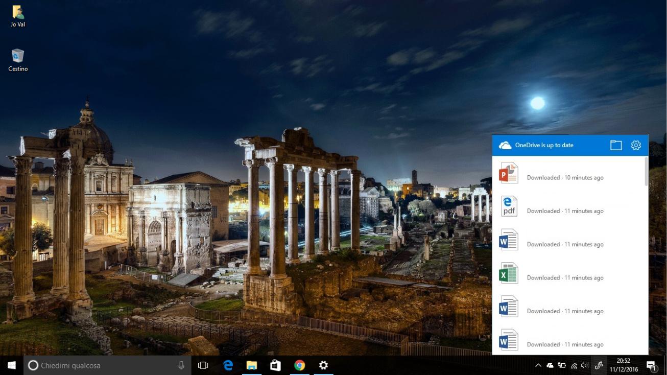 Nuovo design per OneDrive sulla Taskbar di Windows 10 2 HTNovo