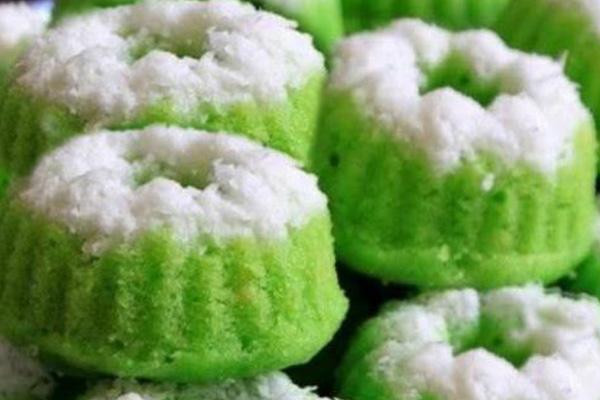 Petunjuk lengkap kue putu ayu hijau