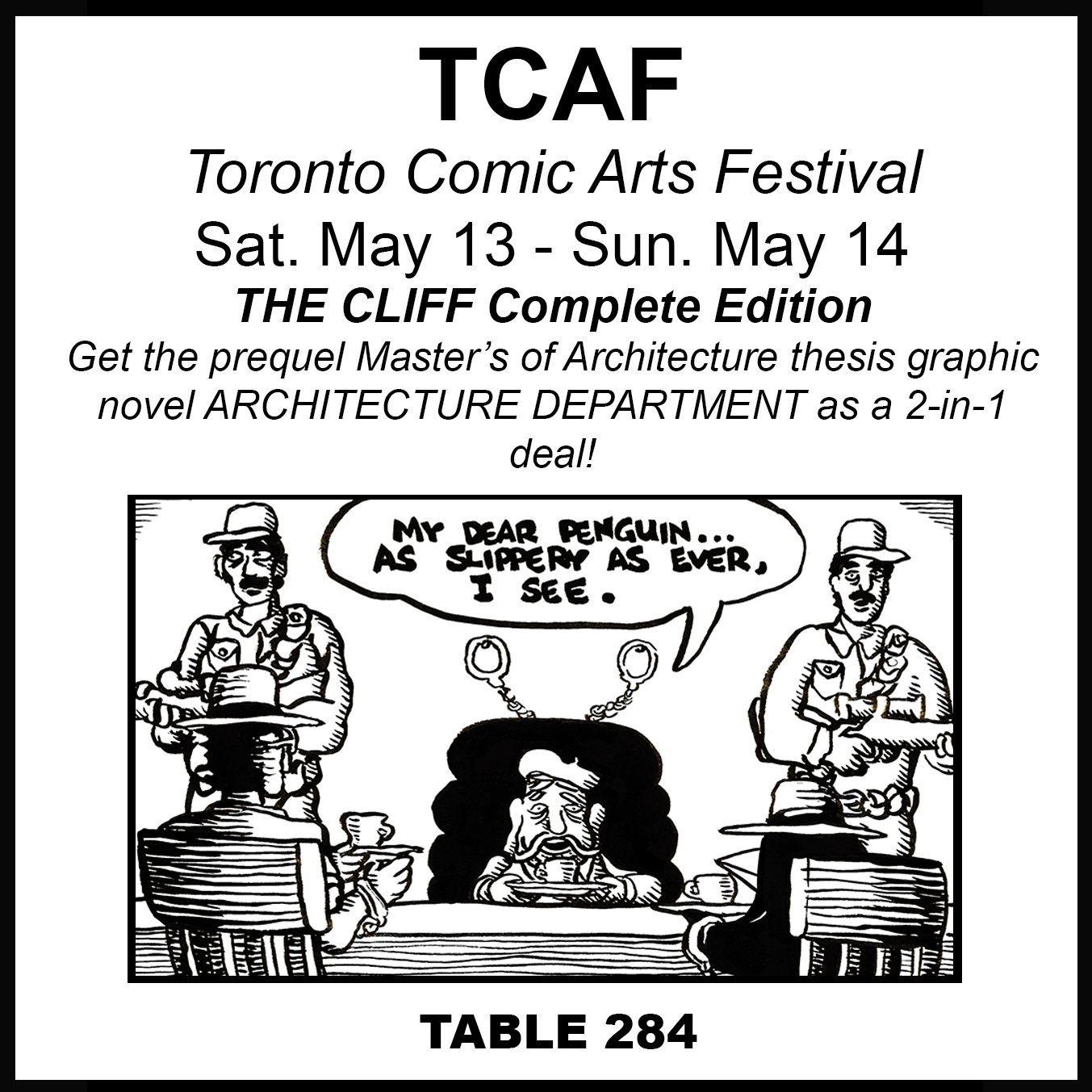 Ambient Zero Comic Book blog: TCAF this weekend