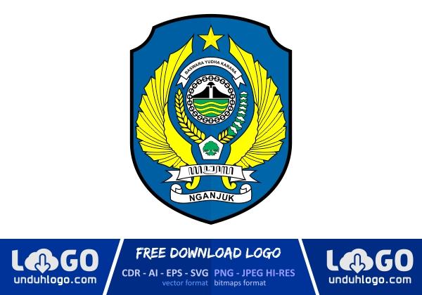 Logo Kabupaten Nganjuk Download Vector Cdr Ai Png