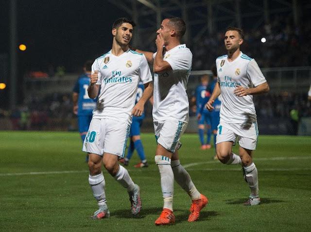 Madrid Menang 2-0 Lawan Tim Divisi Tiga