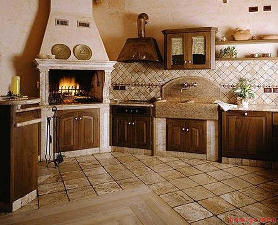 French country kitchen design ideas important elements - Como decorar una cocina rustica ...