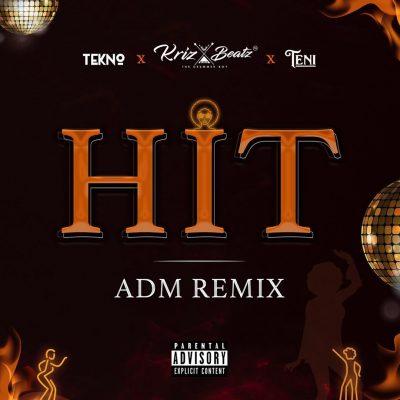 Diwnnload new Audio by Krizbeatz ft Tekno & Teni - Hit ADM (Remix)