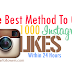 Buy 1000 Instagram Likes For $1