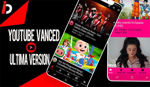 YouTube Black Vanced apk para android