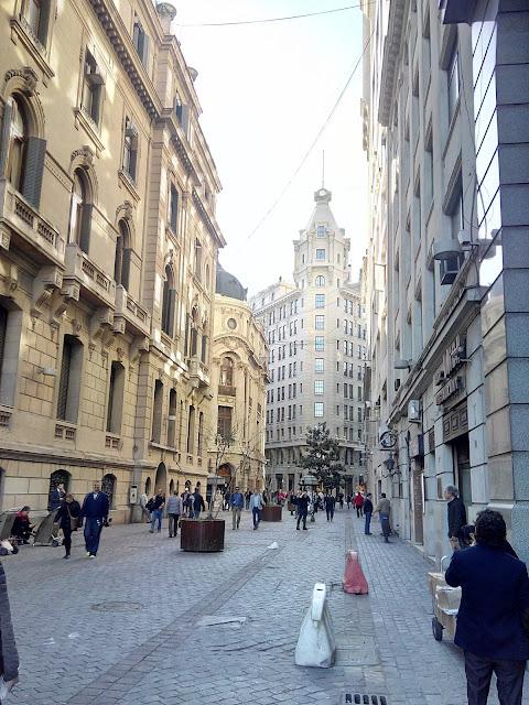 Calle Nueva York, Santiago de Chile