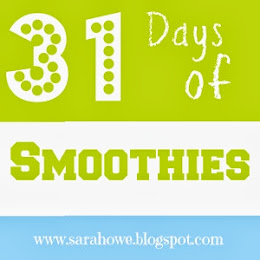 31 Days of Smoothies Starts October 1st
