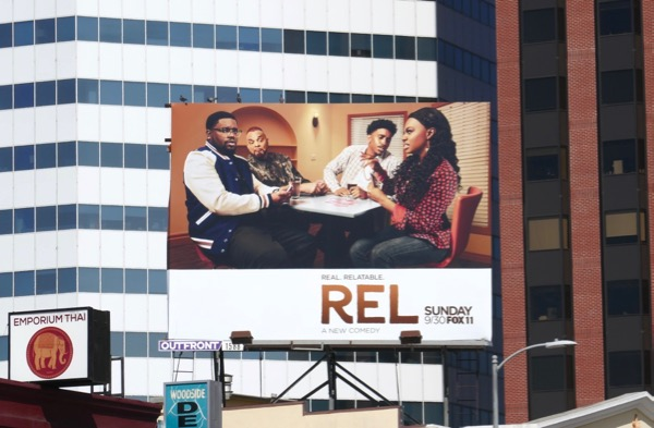 Rel series launch billboard