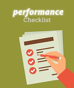Make a performance checklist