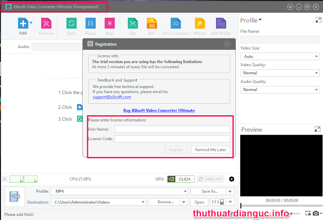 Xilisoft Video Converter Ultimate 7.8.11 Full Key Crack Download