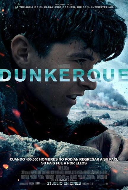 Dunkerque IMAX Nolan Cine Bélico Hans Zimmer Tom Hardy Cartel
