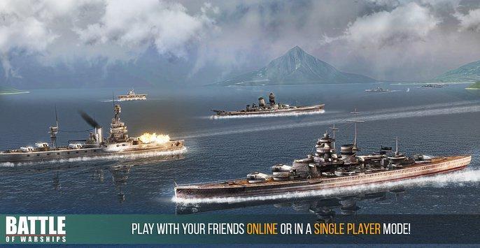 Battle of Warships v 1.72.12 apk mod DINHEIRO INFINITO