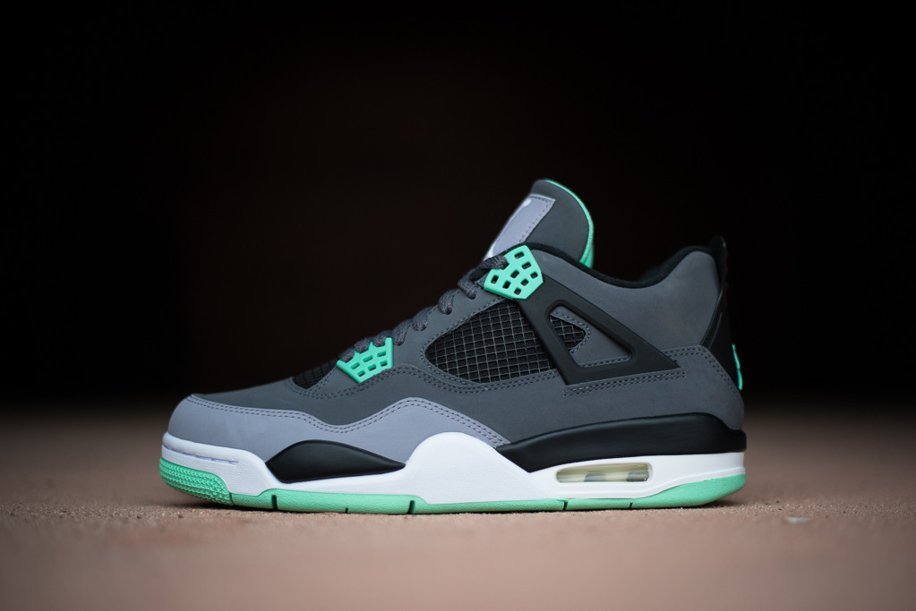 hot sale online 4a9b7 4811f Air Jordan Retro 4 (Green Glow) | Live.. Love.. Dream.. Triumph