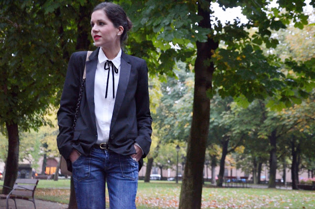 blusa-camisa-lazo-cuello-blogger-fashion-blog-moda-blazer