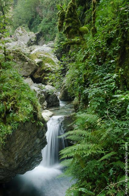 Ruta Cascada Kakuetta senderismo pirineos Francia