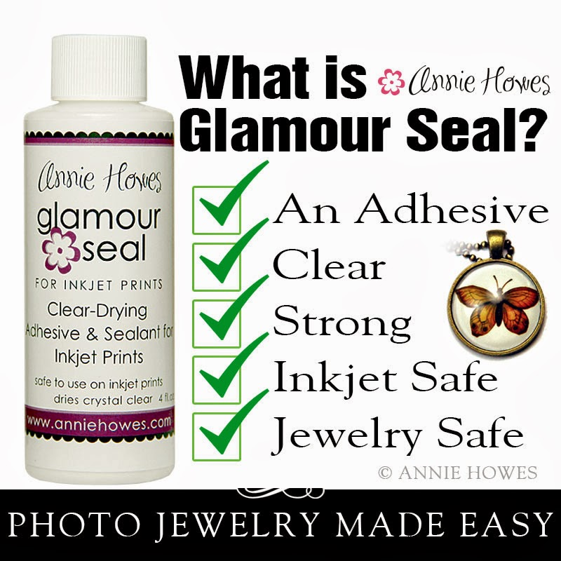 Glamour Seal for Photo Pendants