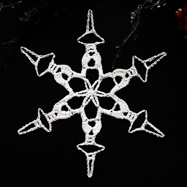 CAL 2018 Crochet Challenge 100 Snowflakes