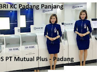 PT Mutual Plus Global Resource - Penempatan Bank BRI KC Padang Panjang