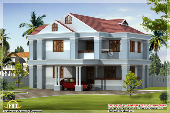 Beautiful Indian home elevation #01