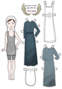 Free Amish Paper Dolls Printables ~  source: triciagoyer.com