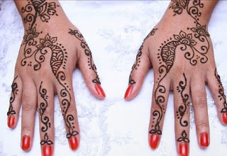 Kumpulan Motif Henna Tangan Sederhana Henna Simple Untuk Acara