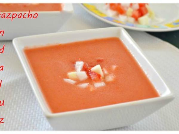 ¿Receta auténtica del gazpacho andaluz?