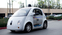 Google driverless car waymo