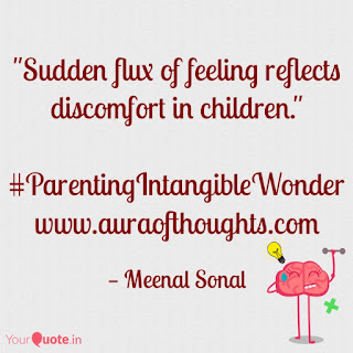 Aura of thoughts - Parenting Tip by MeenalSonal