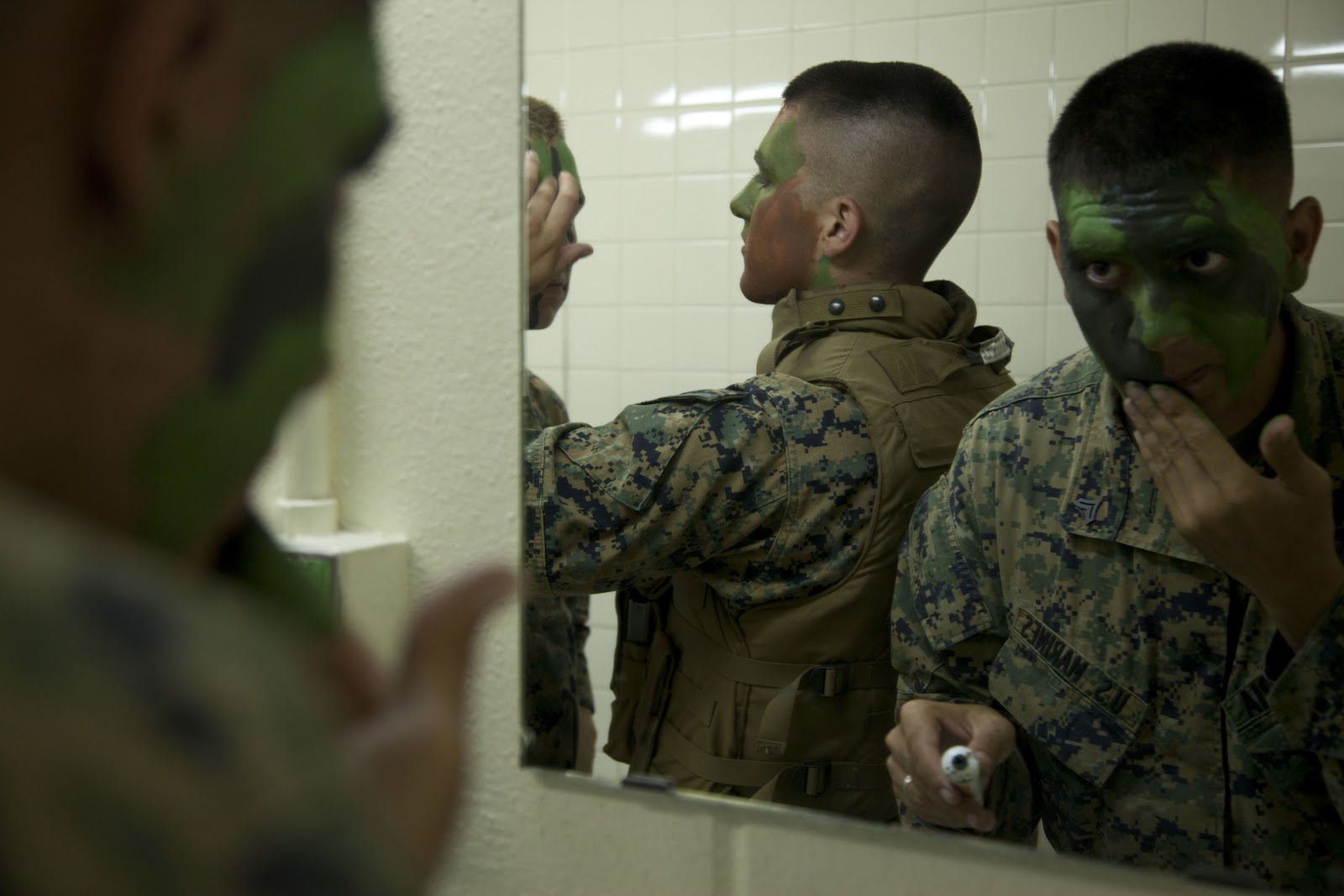 Tactical Gear and Military Clothing News : FR Camouflage Face Paint