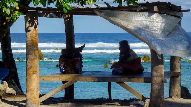 Nauru beach view